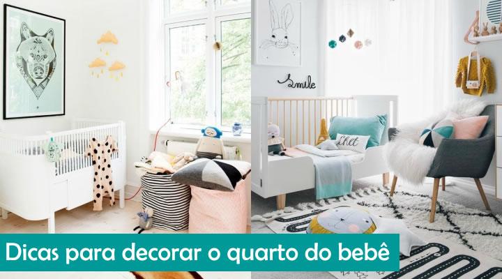 dicas para decorar quarto de bebe
